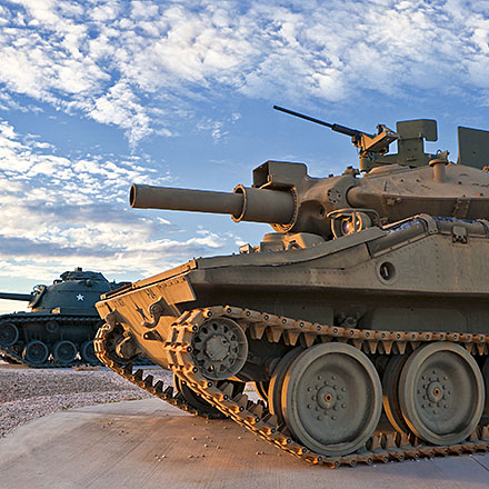 Ground Support Tanks
